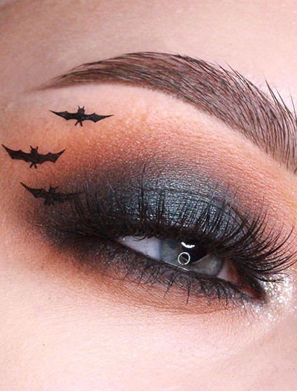 Жутко-красивый макияж на Хэллоуин