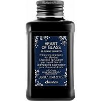 Шампунь Davines Heart Of Glass для сияния блонд оттенков, 90 мл