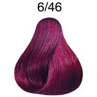 Крем-краска стойкая Londa Color для волос, темный блонд медно-фиолетовый 6/46