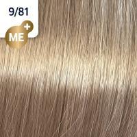 Крем-краска стойкая Wella Professionals Koleston Perfect ME + для волос, 9/81 Сливочный камео