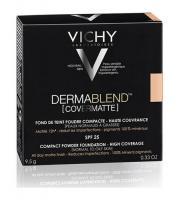 Пудра матирующая компактная Vichy Dermablend SPF25, тон 15, 9,5 г
