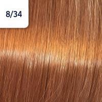 Крем-краска стойкая Wella Professionals Koleston Perfect ME + для волос, 8/34 Чилийский оранжевый