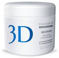 Альгинатная маска Medical Collagene 3D Aqua Balance для лица и тела с гиалуроновой кислотой, 200 г
