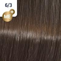 Крем-краска стойкая Wella Professionals Koleston Perfect ME + для волос, 6/3 Пралине