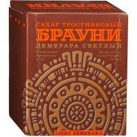Сахар тростниковый Брауни Демерара светлый, прессованный, 500 г