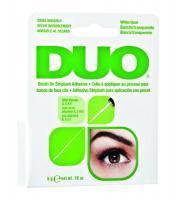 Клей DUO для накладных ресниц, с витаминами, с кистью, прозрачный, 5 г