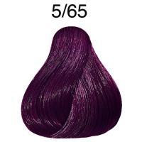 Крем-краска стойкая Londa Color для волос, светлый шатен фиолетово-красный 5/65
