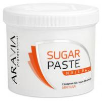 Паста сахарная Aravia Professional для депиляции, натуральная, мягкой консистенции, 750 г