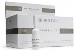 Флюид отшелушивающий осветляющий BIOLINE Primaluce Exforadiance 40% AHA, 10 х 4 мл