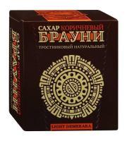 "Сахар прессованный ""Брауни"" коричневый Light 0,5кг"