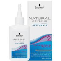 Комплект Schwarzkopf professional Natural Styling Glamour Wave 2 для химической завивки, 180 мл