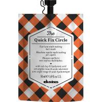 Маска Davines The Circle Chronicles The Quick Fix Circle для мгновенного увлажнения и разглаживания структуры волос, 50 мл