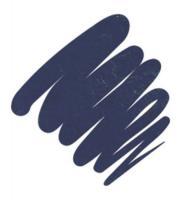 Подводка гелевая Provoc для глаз, в карандаше, темно-сапфировый, шиммер, 67