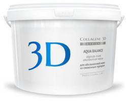 Альгинатная маска Medical Collagene 3D Aqua Balance для лица и тела с гиалуроновой кислотой, 1200 г