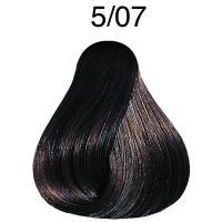 Крем-краска Londa Color интенсивное тонирование Extra-Coverage для волос, 5/07, 60 мл