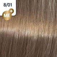 Крем-краска стойкая Wella Professionals Koleston Perfect ME + для волос, 8/01 Миндаль