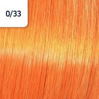 Крем-краска стойкая Wella Professionals Koleston Perfect ME + для волос, 0/33 Золотистый интенсивный