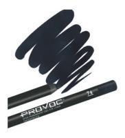 Подводка гелевая Provoc для глаз, в карандаше, цвет темно-синий, 74