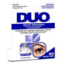 Клей для накладных ресниц Duo прозрачный, быстрая фиксация, 5 г