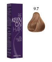 Крем-краска KEEN COLOUR CREAM 9.7, светло-коричневый блондин, 100 мл