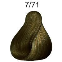 Крем-краска стойкая Londa Color для волос, блонд коричнево-пепельный 7/71