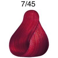 Крем-краска Londa Color интенсивное тонирование для волос, блонд медно-красный 7/45