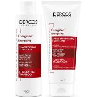 Набор Vichy Dercos Aminexil против выпадения волос, шампунь тонизирующий, 200 мл + кондиционер тонизирующий, 200 мл