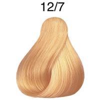 Крем-краска стойкая Londa Color для волос, специальный блонд коричневый 12/7