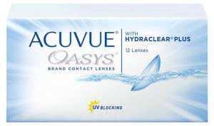 Линзы контактные Johnson&Johnson Acuvue Oasys D+0.50 R8.8, две недели, 12 шт.