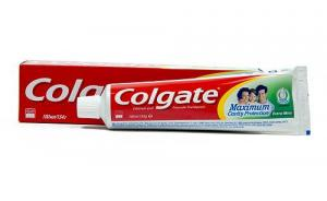 Паста зубная COLGATE «Максимальная защита от кариеса», двойная мята с жидким кальцием, 100 мл