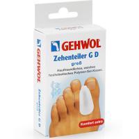 Гель-корректор Gehwol GD для больших пальцев ног, большой, 3 шт/уп