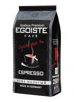 Кофе EGOISTE Espresso молотый (Ground), 250 г