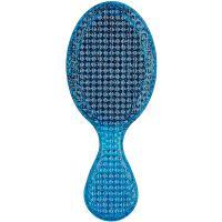 Щетка Wet Brush mini Rock n Roll Detangler Blue Glitter Рок-н-ролл, для спутанных волос, синяя