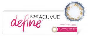 Линзы контактные цветные Johnson&Johnson Acuvue Define Shimmer D-6.00 R8.5, однодневные, 30 шт.