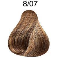 Крем-краска Londa Color интенсивное тонирование Extra-Coverage для волос, 8/07, 60 мл