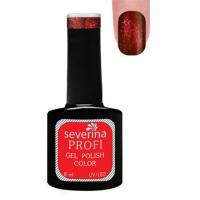 Гель-лак Severina красные туманности, блёстки, 8 мл