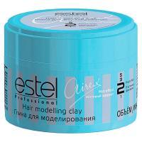 Глина ESTEL Airex для моделирования волос, с матовым эффектом, пластичная фиксация, 65 мл