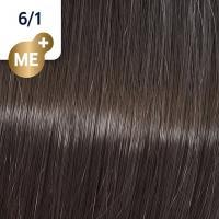 Крем-краска стойкая Wella Professionals Koleston Perfect ME + для волос, 6/1 Древесный дым