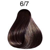 Крем-краска стойкая Londa Color для волос, темный блонд коричневый 6/7