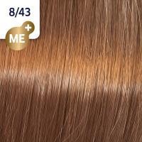 Крем-краска стойкая Wella Professionals Koleston Perfect ME + для волос, 8/43 Боярышник