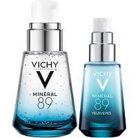 Набор Vichy Mineral 89 2021, гель-сыворотка, 30 мл + уход для кожи вокруг глаз, 15 мл