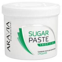 Паста сахарная Aravia Professional для депиляции, тропическая, средней консистенции, 750 г