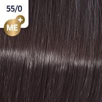 Крем-краска стойкая Wella Professionals Koleston Perfect ME + для волос, 55/0 Светло-коричневый интенсивный натуральный