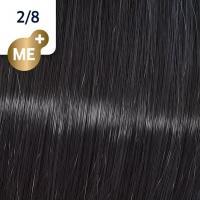 Крем-краска стойкая Wella Professionals Koleston Perfect ME + для волос, 2/8 Сине-черный