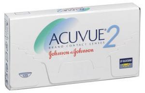 Линзы контактные Johnson&Johnson Acuvue 2 D-4.00 R8.7, две недели, 6 шт.