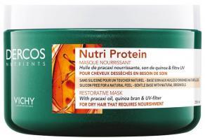 Маска восстанавливающая Viсhy Dercos Nutrients Nutri Protein, 250 мл