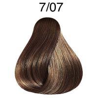 Крем-краска стойкая Londa Color для волос, блонд натурально-коричневый 7/07