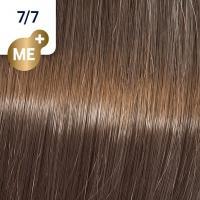 Крем-краска стойкая Wella Professionals Koleston Perfect ME + для волос, 7/7 Морозное глясе