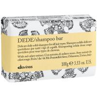 Шампунь твердый Davines Essential Haircare Dede для деликатного очищения волос, 100 г