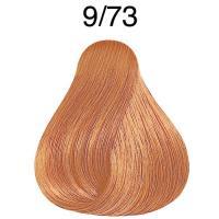 Крем-краска Londa Color интенсивное тонирование для волос, очень светлый блонд коричнево-золотистый 9/73
